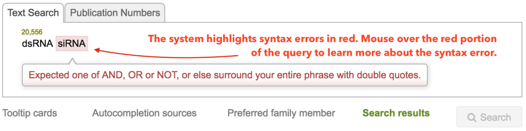Query-Box-Errors