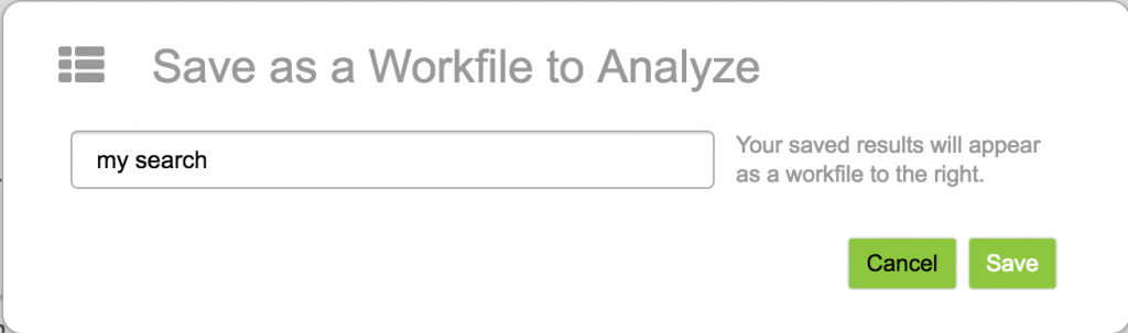 Save workfile as
