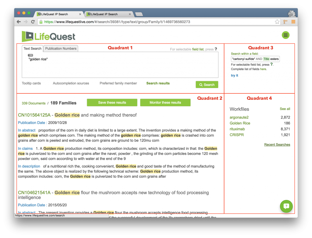 The Front Page of LifeQuest